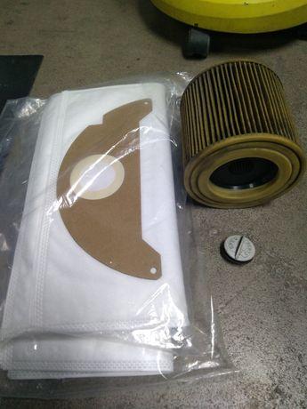 Worki, filtr karcher A2004 wąż