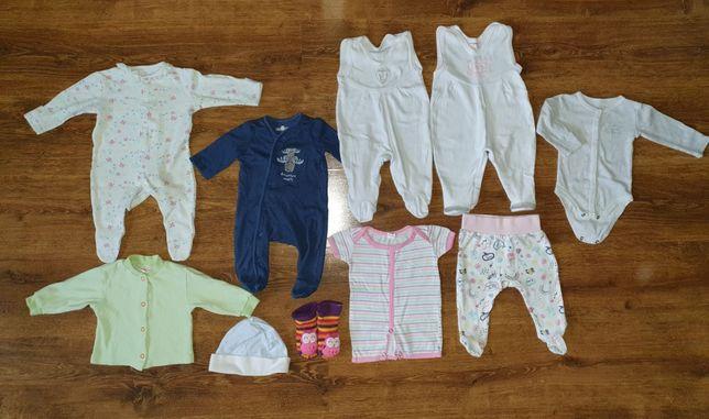 Zestaw dla niemowlaka r. 62