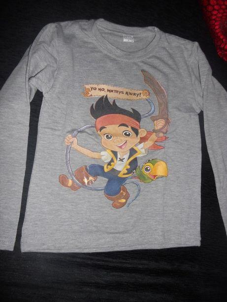 Swets camisolas do Jake o pirata novas. TM 2-12 anos.
