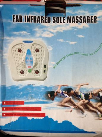 Массажёр для ног infrared massager
