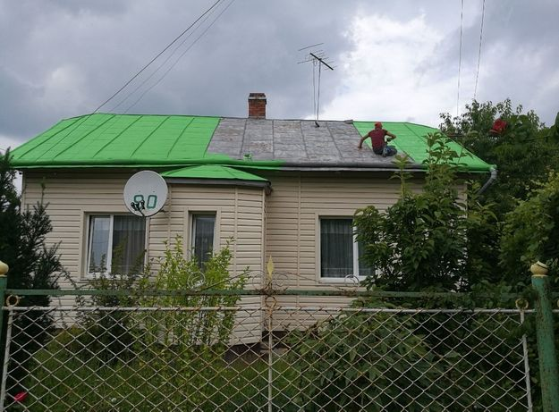 Дах дахів чистка малювання