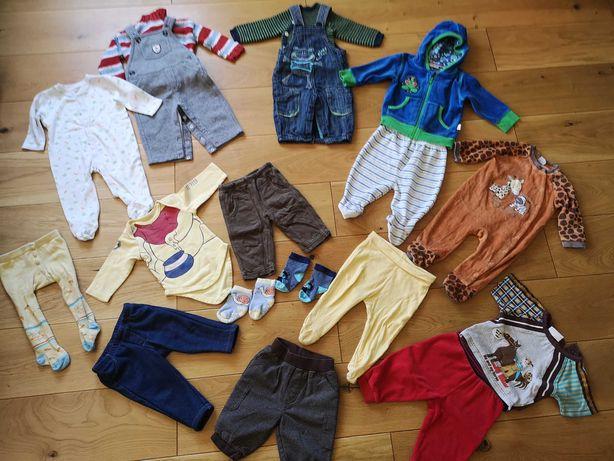 Zestaw ubranek niemowlęcych chłopiec 62-68