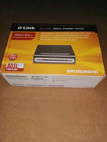 Модем D-LINK DSL-2500U, маршрутизатор D-LINK DSL-2500U, роутер