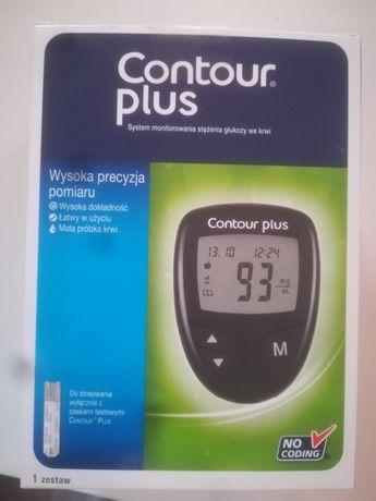 CONTOUR PLUS glukometr nowy komplet Okazja do30 czerwca