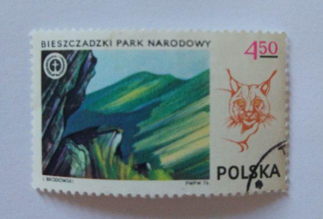 Znaczek pocztowy, Bieszczadzki Park Narodowy.