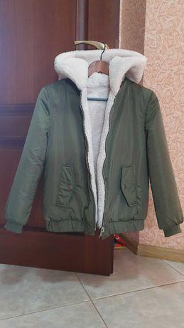 осення куртка пилот для девочки 12-13 лет, zara