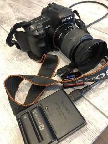 Sony alfha   A200 karta 4 gb