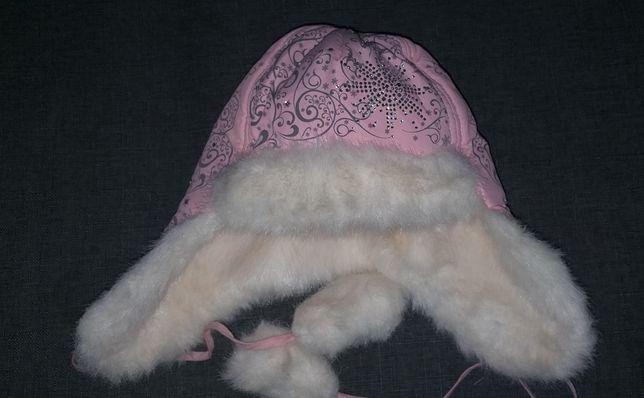 Зимняя шапочка 4-5 лет