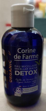 Água micelar Detox-Corine de Farme