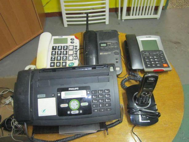 Stare telefony i fax