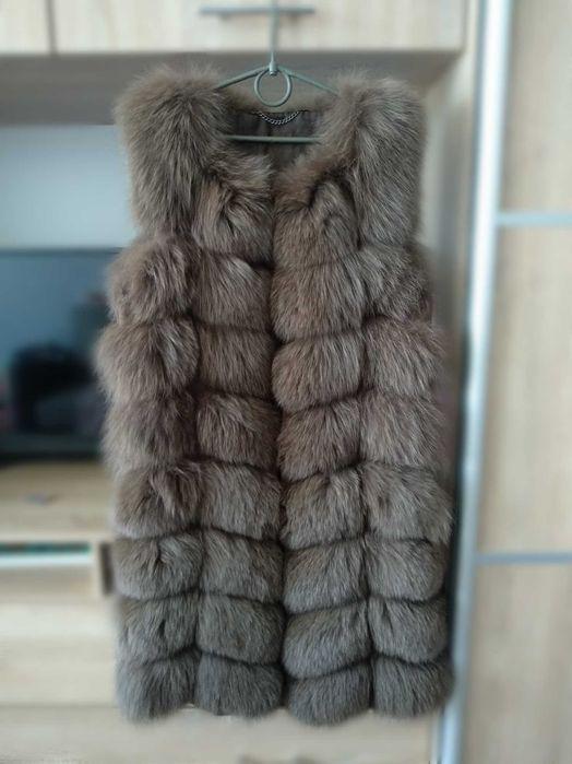 Меховая жилетка, меховая безрукавка, натуральная жилетка Згуровка - изображение 1
