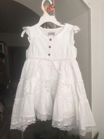 Детское платье и бриджи