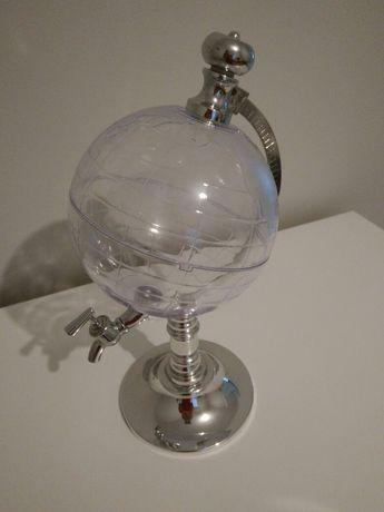 Dystrybutor dyspenser nalewak do alkoholu napojów globus na ślub