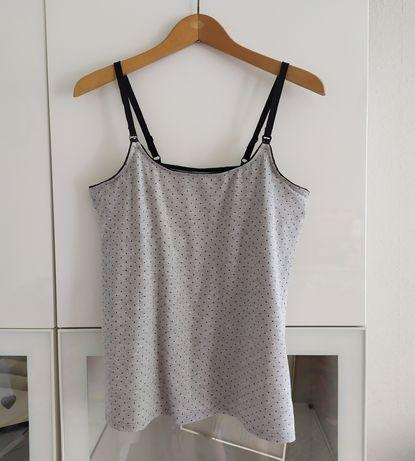 Bluzka do karmienia L H&M mama 40 koszulka top ubrania odzież