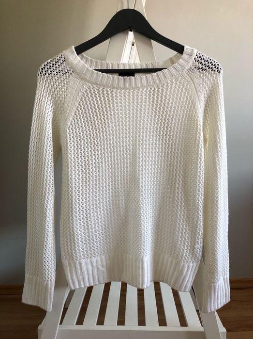 kappahl sweter nowy biel biały knitwear rozmiar xs 34 dla dziewczynki Warszawa - image 1