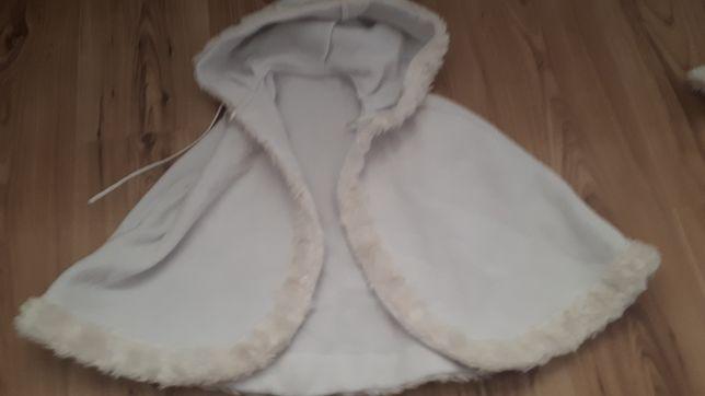 pelerynka biała komunijna