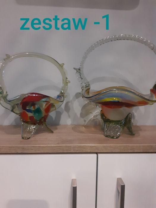 Koszyk szklany prl Rybnik - image 1