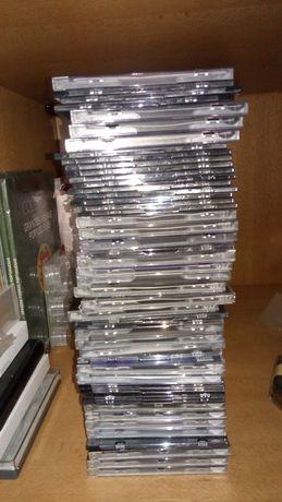 Lote caixas de CDs ou DVDs vazias