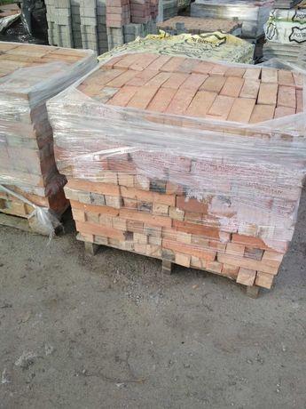 Bloczki ceglane ze starej poniemieckiej cegły