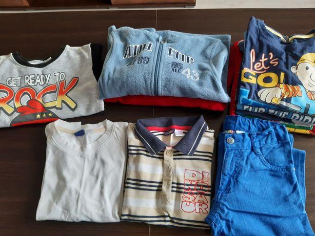Polar,bluza, spodnie, koszulki 116 chłopiec Bob budowniczy