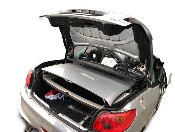 PEUGEOT206 CC dach kompletny EZR cabrio