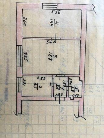 Продам двухкомнатную квартиру с ремонтом с.Русанов Киевская область