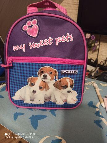 Plecak dla dziewczynki.