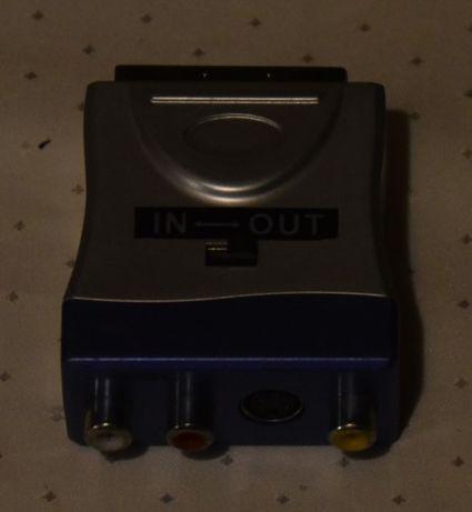 Adapter AV do gniazda Euro Scart