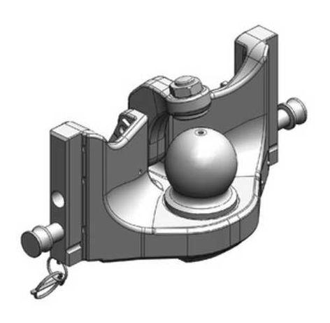 Zaczep kulowy Massey Ferguson K80