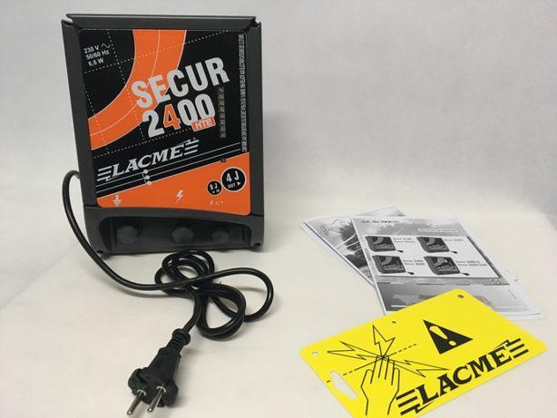 SECUR 2400 HTE - Silny elektryzator sieciowy 8 J - na Dziki Sarny Byki