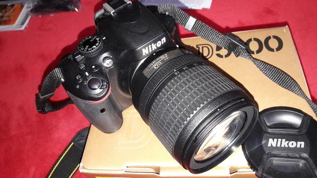 Aparat cyfrowy lustrzanka Nikon D5100 + OBIEKTYW + akcesoria