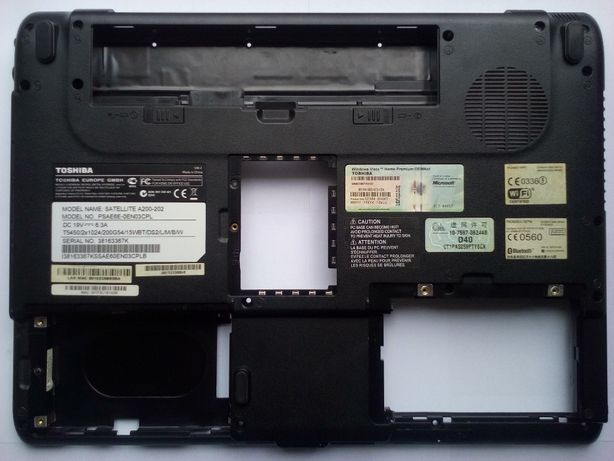 Obudowa dolna kadłubek do laptopa TOSHIBA Satellite A200 A210 A215