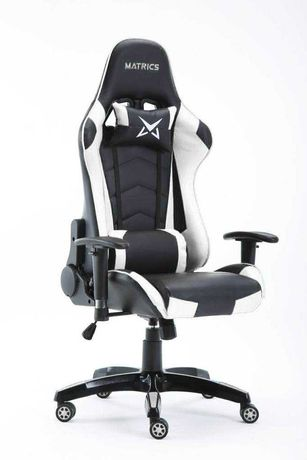 Cadeira Gaming Matrics Osiris Preto e Branco