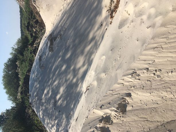 Piasek plażowy morski z transportem piasek do piaskownicy