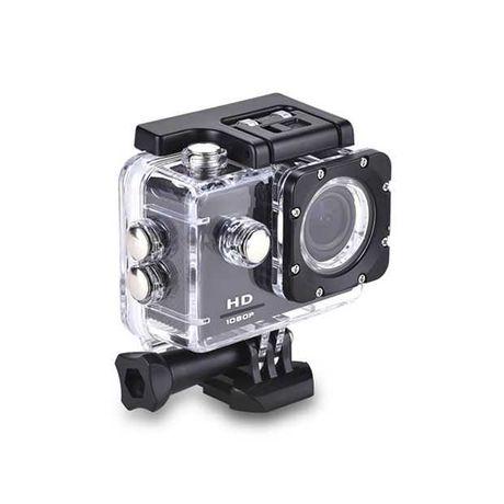 KAMERA SPORTOWA FULL HD 1080P PRO wodoodporna na kask rower narty