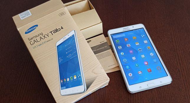 Планшет +телефон 2 в 1 на 1 симкарту.   Samsung Galaxy Tab 4 7.0