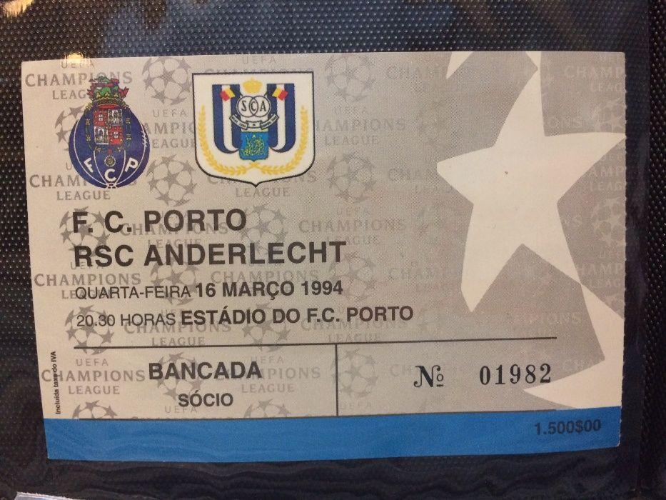 Bilhete FC Porto Vs RSC Anderlecht Paranhos - imagem 1