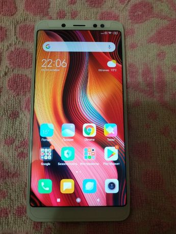 Телефон xiaomi redmi note 5 Rose Gold GV на 3/32gb.