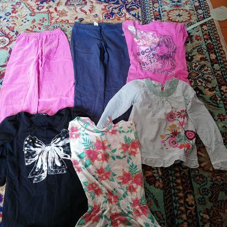 Paka ubrań dziewczęcych 7 lat