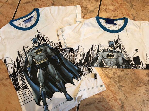 Koszulki Batman r 98 dla bliźniaków
