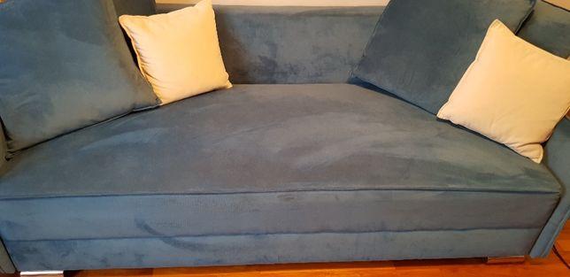 Sofa AGATA MEBLE model Cayon II 3-os z funkcją spania, tkanina