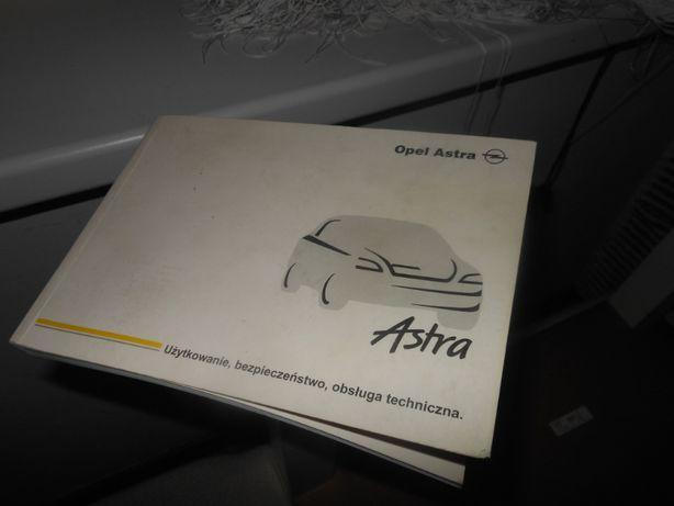 ksiazka obslugi,instrukcja opel astra II g 2003r orginalna w jezyku pl