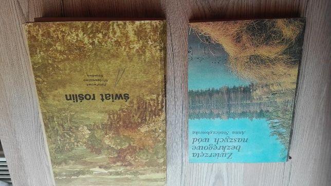 Książki zoologia , botanika , biologia