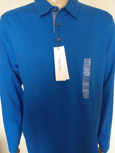 Koszulka polo long sleeve Calvin Klein XL