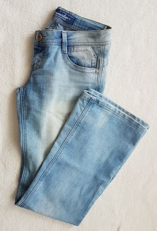 Dromedar Jasnoniebieskie spodnie jeansowe 27 36/38