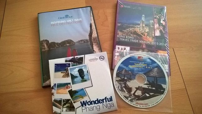 Zestaw płyt DVD - Wietnam, Phang Nga, Hong Kong - nowe