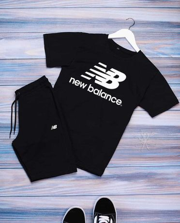 Чоловічий спортивний костюм футболка + шорти New Balance. ТОП 2021
