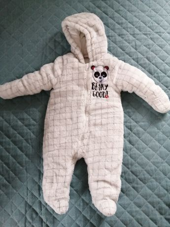Kombinezon zimowy niemowlęcy. Fisher Price. Rozm 62