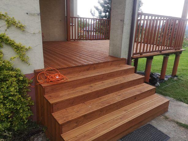 Tarasy drewniane kompleksowo