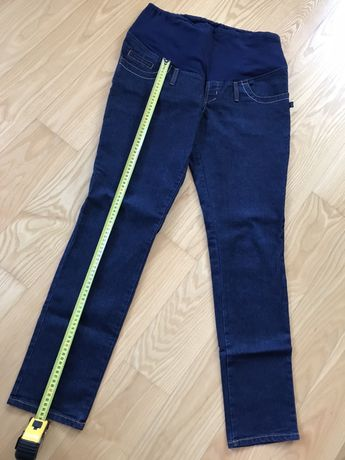 Spodnie jeansy ciążowe XL